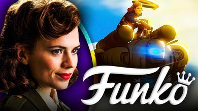 Peggy Carter Hydra Stomper MCU Funko