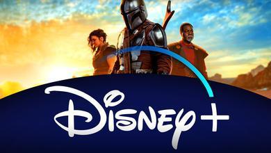 Mandalorian Banner, Disney+ Logo