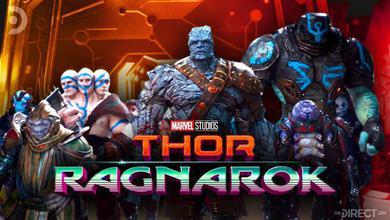 Marvel Studios Director of Visual Development Shares New Look At Thor: Ragnarok Character Designs