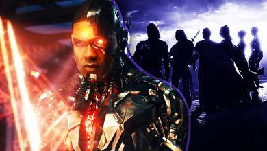 Ray Fisher as Cyborg, Justice League silhouettes