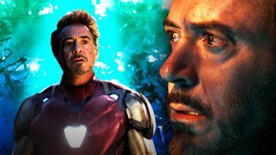Robert Downey Jr as Tony Stark in Avengers: Endgame