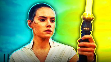 Rey Skywalker Yellow Lightsaber