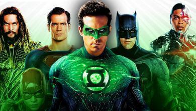 Justice League Green Lantern Ryan Reynolds