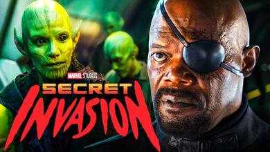 Nick Fury Skrulls Secret Invasion