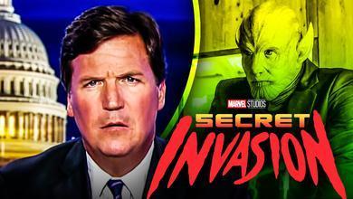 Tucker Carlson Skrull Secret Invasion