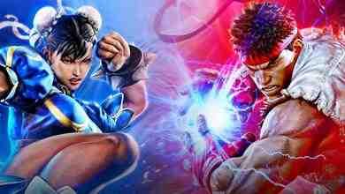 Ryu and Chun-Li in Street Fighter 5
