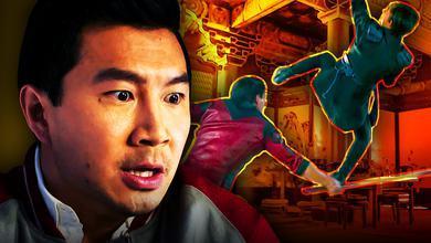 Marvel Shang Chi Simu Liu Kung Fu