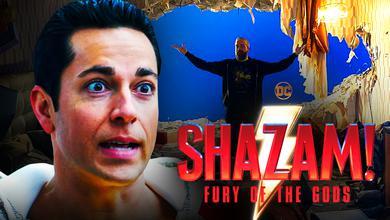 Shazam Fury of the Gods Set Photo