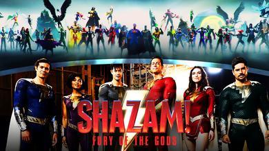 Shazam 2 Justice League Opening