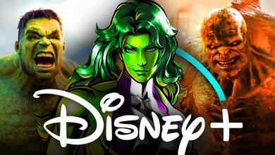 She-Hulk, Abomination, Hulk, Disney+