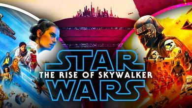 Star Wars: The Rise of Skywalker logo, Rey, Kylo Ren, Bespin