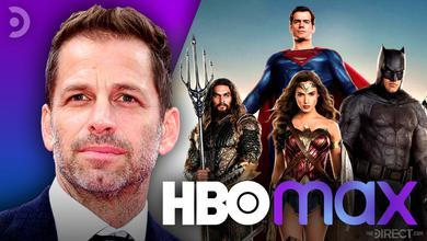 Zack Snyder, Justice League, HBO Max Logo