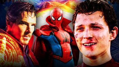 Spider Man Doctor Strange suit MCU