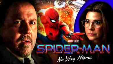 Happy Hogan and Spider-Man