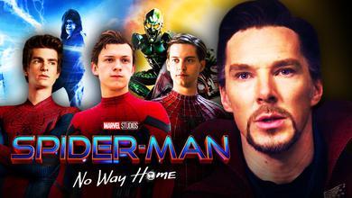 Doctor Strange, Benedict Cumberbatch, Spider-Man, No Way Home