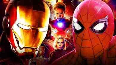 Spider-Man Iron Man The Avengers Marvel