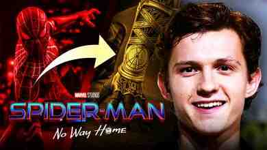 Black & Gold Suit, Spider-Man: No Way Home, Tom Holland