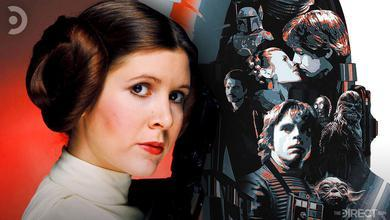 Leia Organa, special edition poster for The Empire Strikes Back