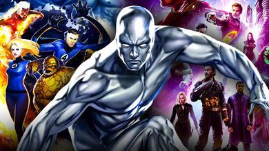 Silver Surfer MCU Avengers Fantastic Four