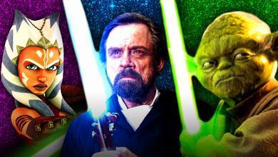 Ahsoka Tano, Luke Skywalker, Yoda