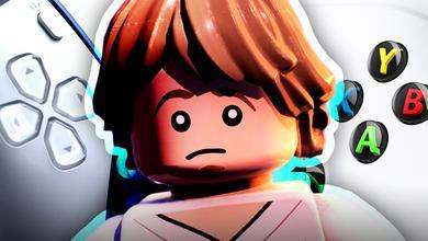 PS5 D-pad, Lego Luke Skywalker, Xbox buttons