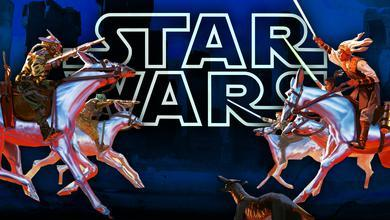 Star Wars logo, The High Republic characters