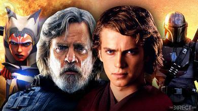Ahsoka, Luke Skywalker, Anakin Skywalker, Mandalorian