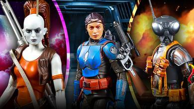 Star Wars Hasbro Black Series, Aurra Sing, Koska Reeves, Q9-0