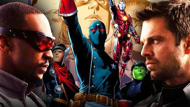 Falcon, Young Avengers, Bucky