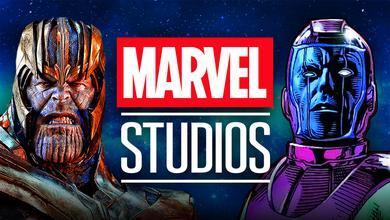 Thanos Kang Marvel Studios logo