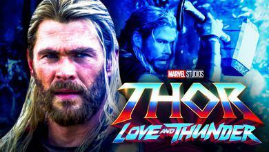 Thor, Thor Love and Thunder logo