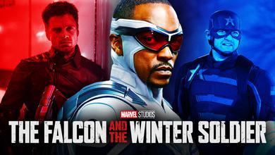 Falcon and Winter Soldier Captain America Bucky