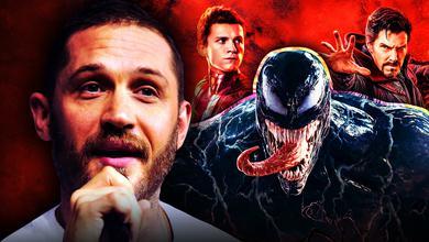 Tom Hardy, Venom, Spider-Man, Doctor Strange