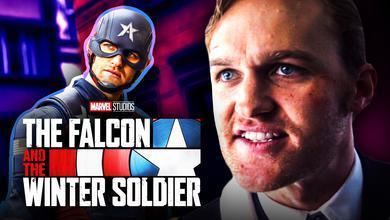 John Walker Captain America Falcon Winter Soldier