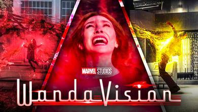 WandaVision Chaos Magic Westview Vision Creation