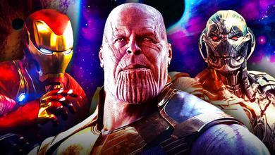 Iron Man Ultron Thanos
