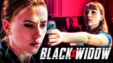 Black Widow Crying