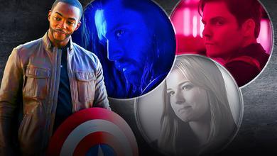 Falcon Captain America Shield Bucky Zemo Sharon