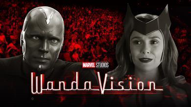 Vision, Wanda, Audience, WandaVision logo