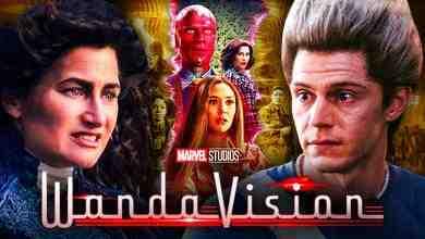 WandaVision Agatha Quicksilver Kathryn Hahn Evan Peters