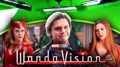 WandaVision Evan Peters Quicksilver Wanda Costumes Green Screen