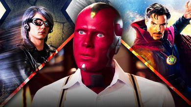 Evan Peters Quicksilver, Vision, Doctor Strange.