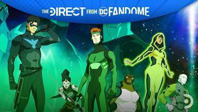 Young Justice, DC FanDome header