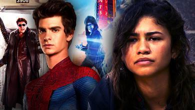Zendaya, Andrew Garfield Spider-Man