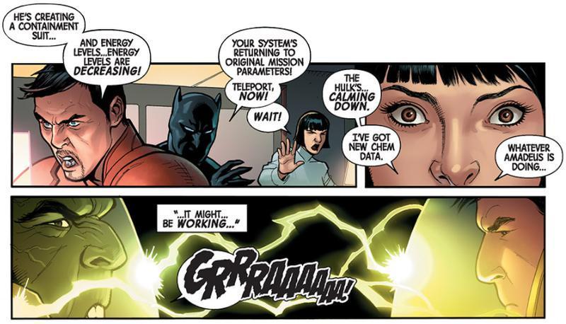 Totally Awesome Hulk Panel Cho