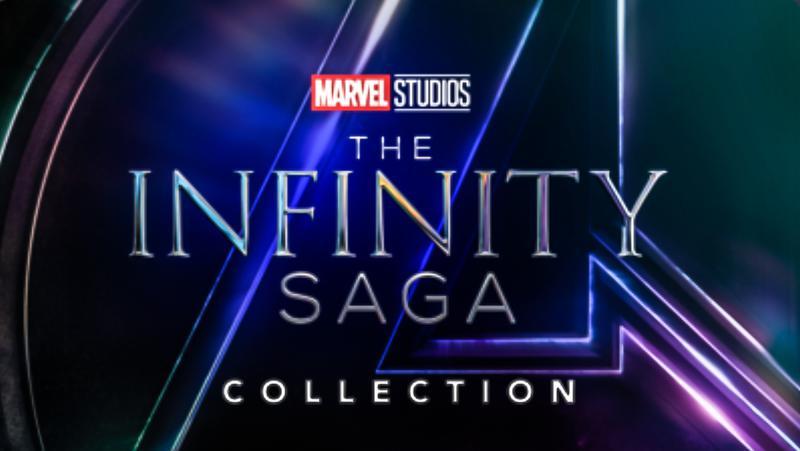 Dinsey+, Marvel Studios, Infinity Saga Collection