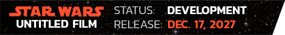2027 Star Wars Movie